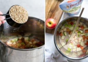 how to make instant post steel cut oats