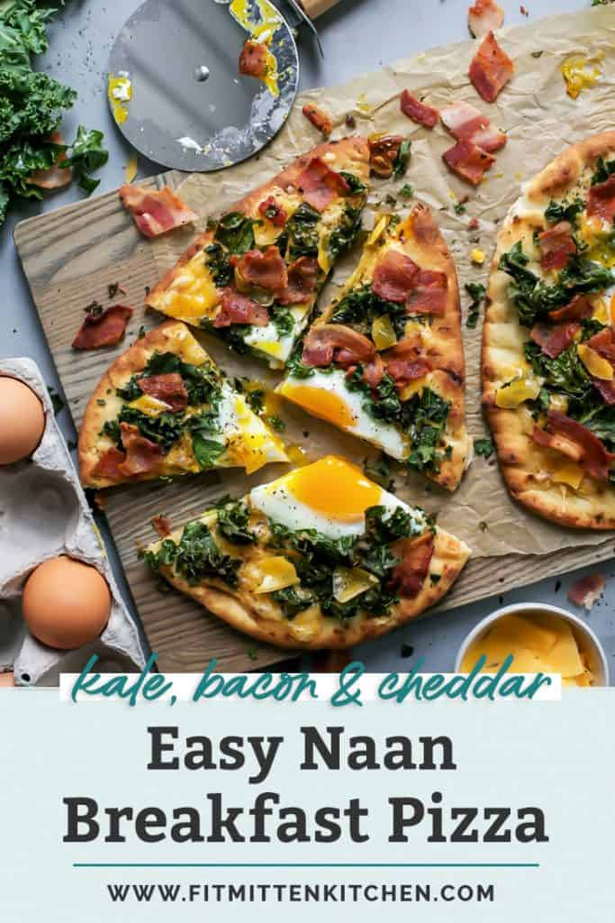 naan breakfast pizza pinterest