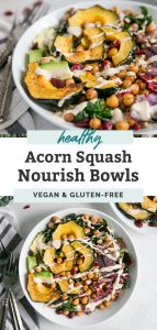 acorn squash bowls pinterest