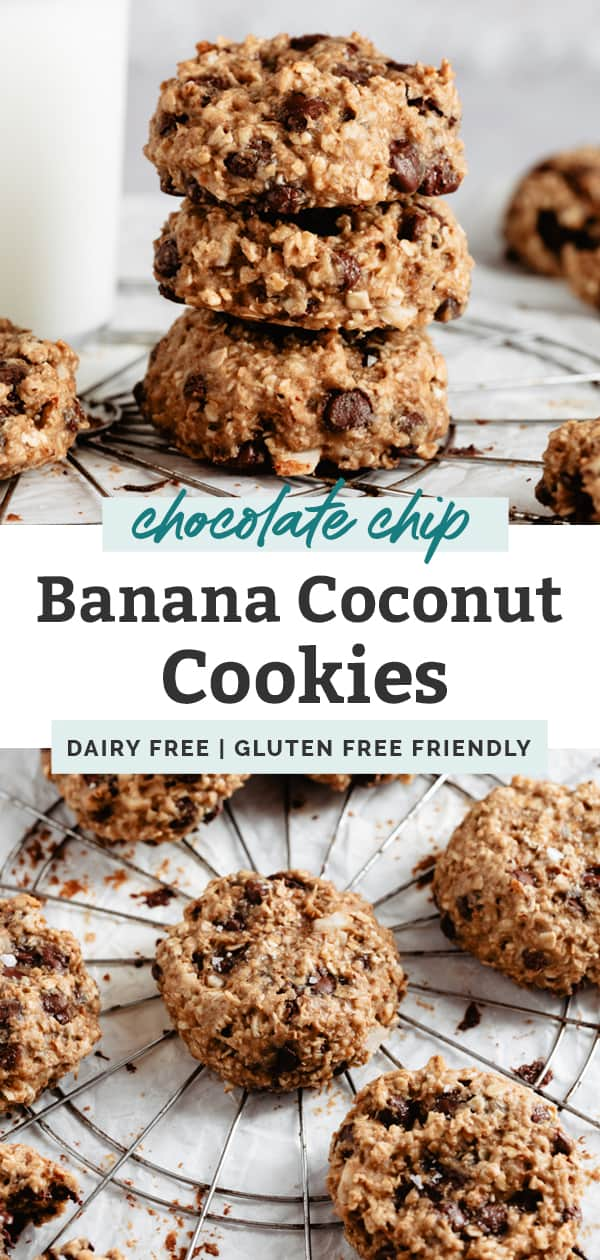 banana coconut cookies pinterest