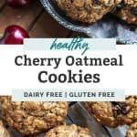 cherry oatmeal cookies pinterest