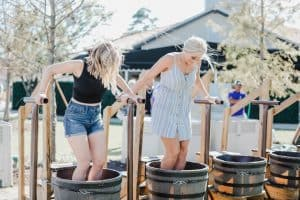 grape stomp fest