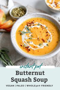 butternut squash soup pin