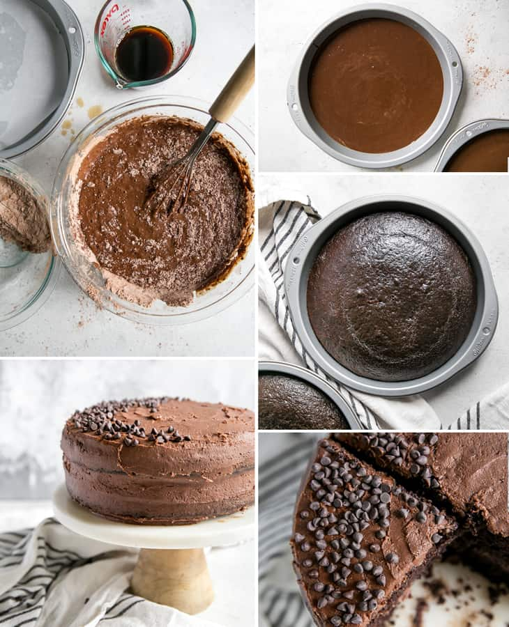 how to make a chocolate cake recipe from scratch
