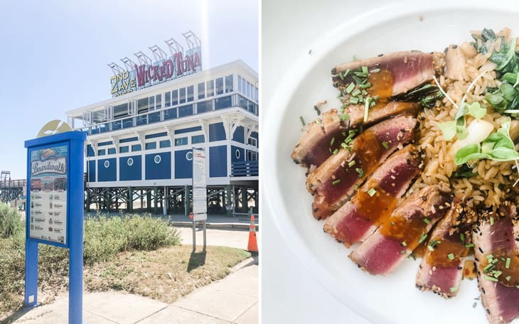 lunch at wicked tuna