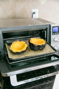 acorn squash in convection oven