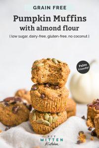 pumpkin muffins with almond flour pinterest