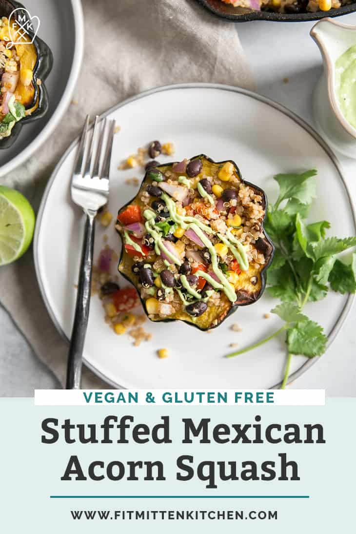 mexican stuffed acorn squash pinterest