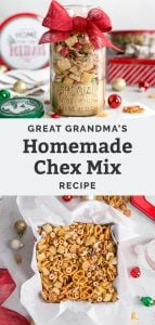 grandma's homemade chex mix recipe