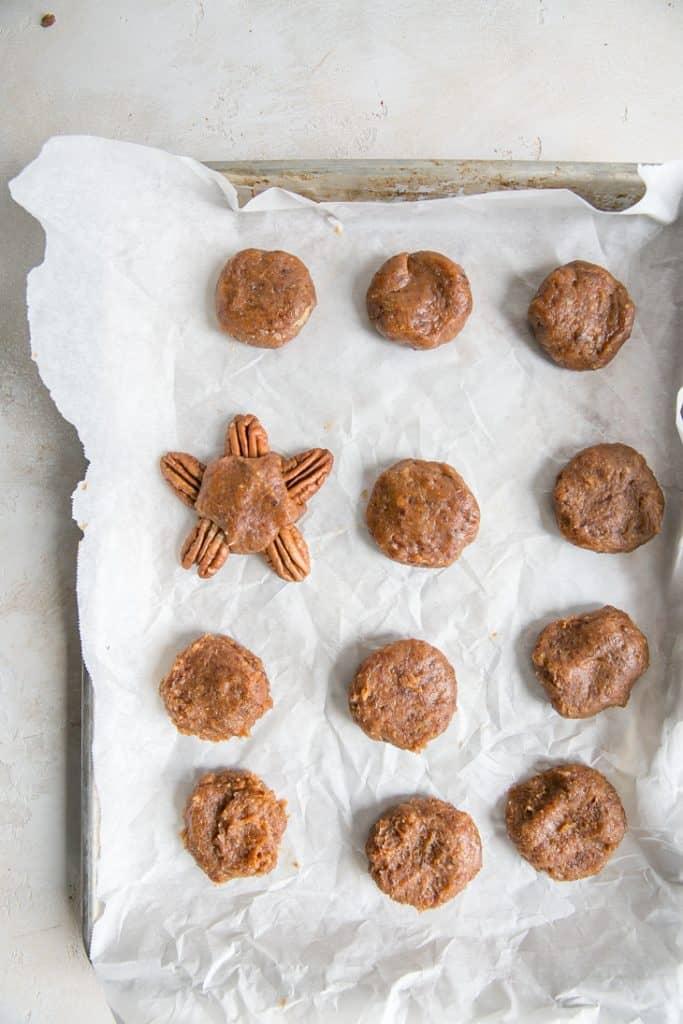 date caramels for vegan chocolate turtles