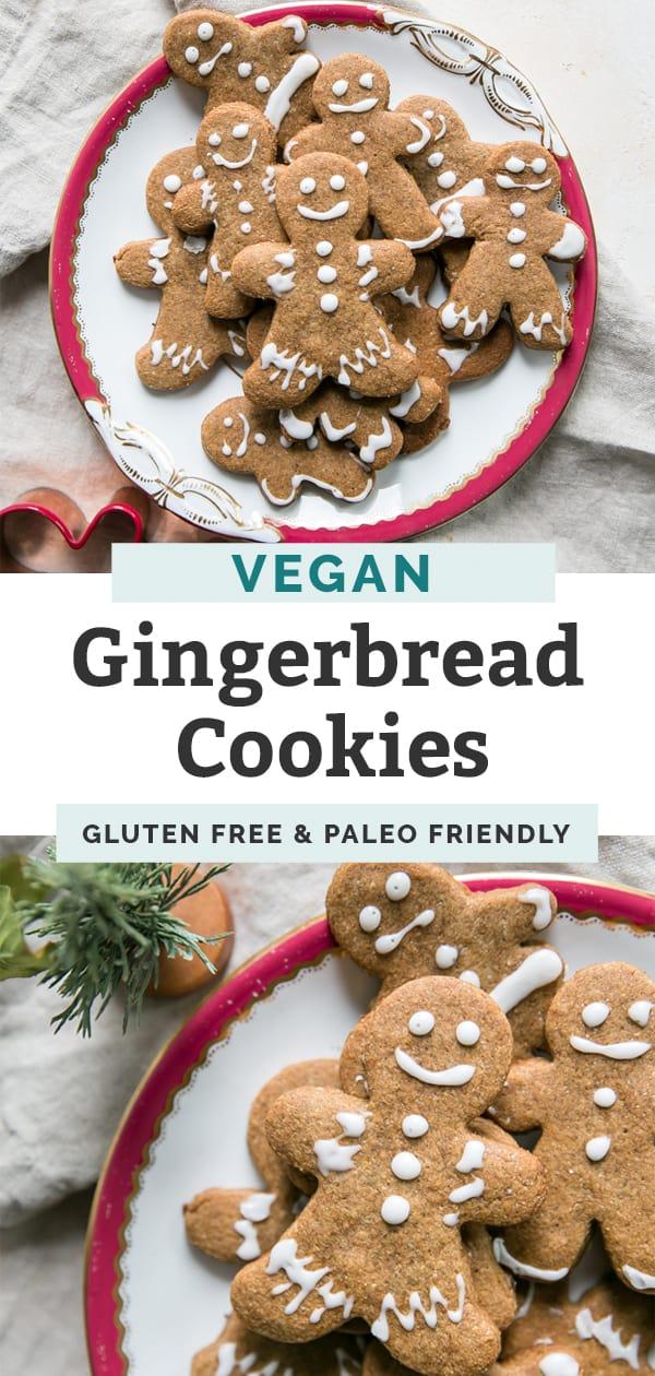 vegan gingerbread cookies pinterest