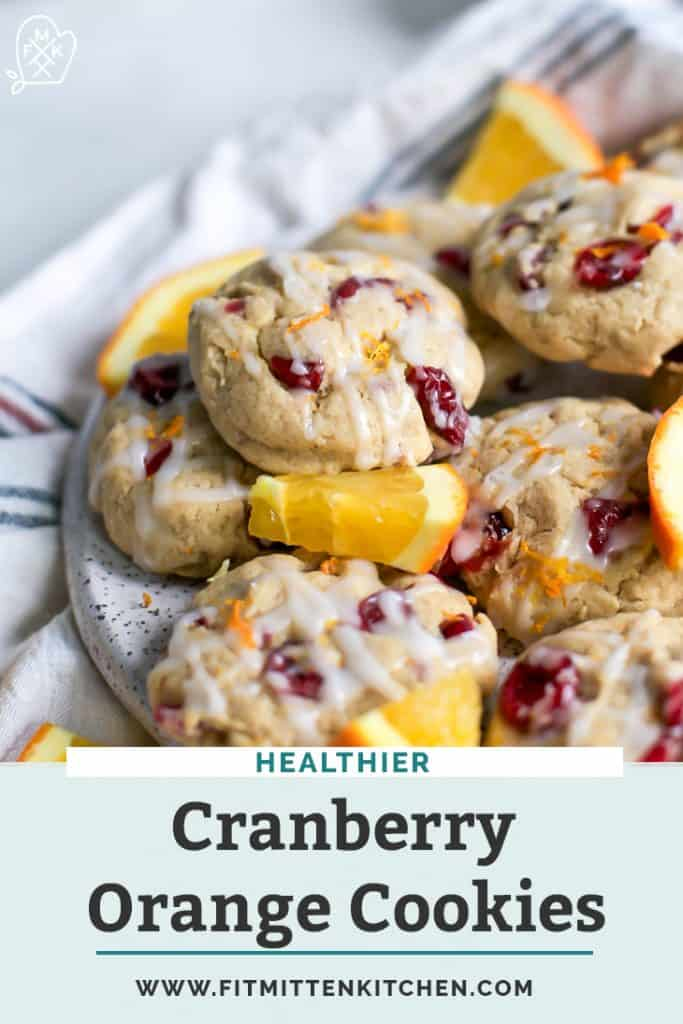 cranberry orange cookies pinterest