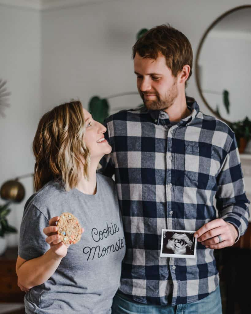 cookie momster pregnancy announcement