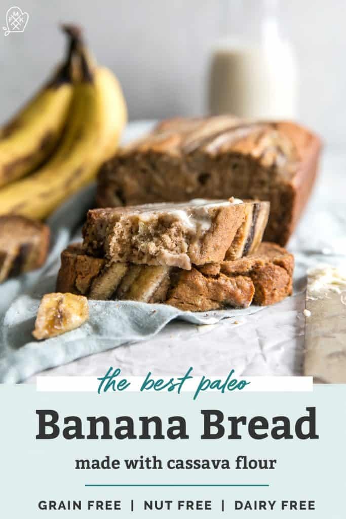 banana bread with cassava flour pinterest