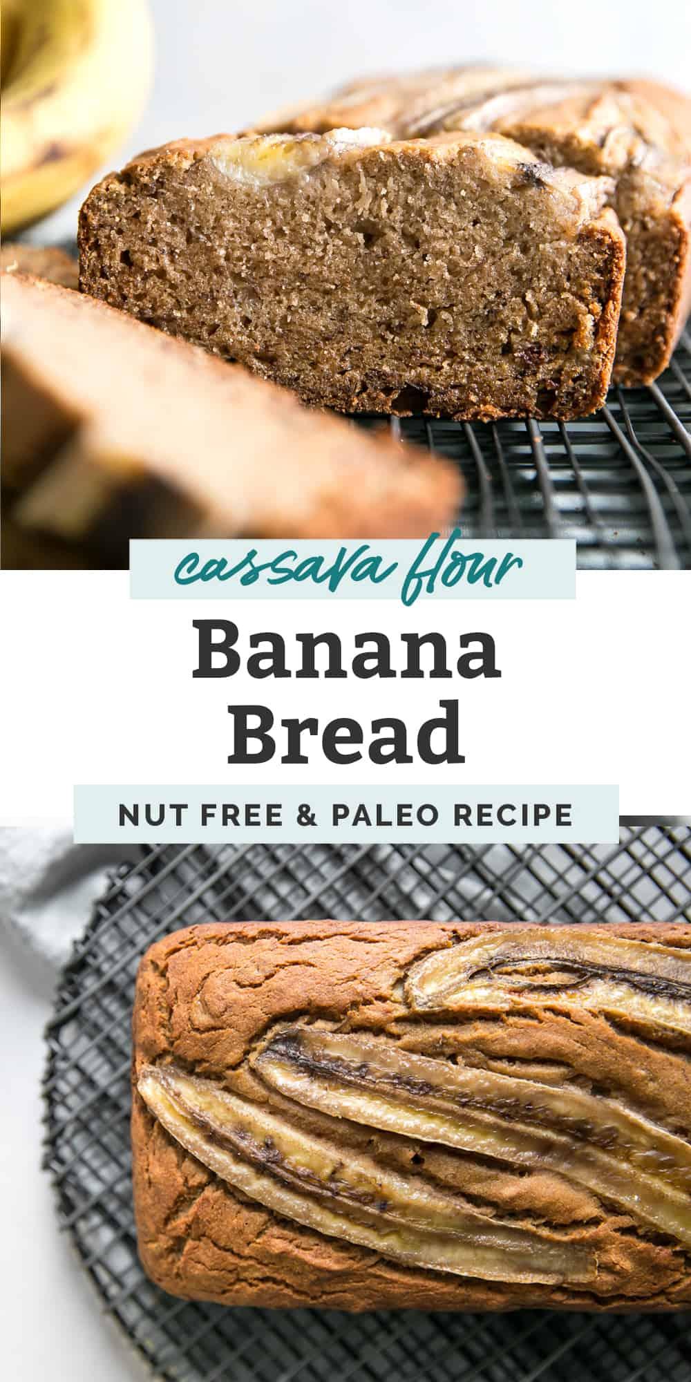 cassava flour banana bread pinterest