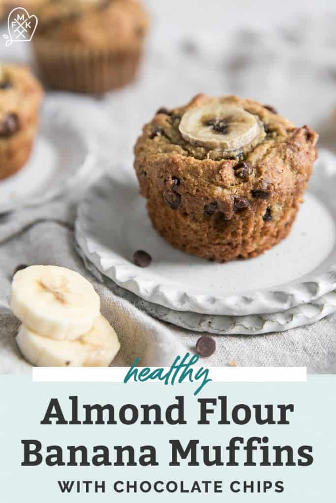 Almond Flour Banana Chocolate Chip Muffins Fit Mitten Kitchen