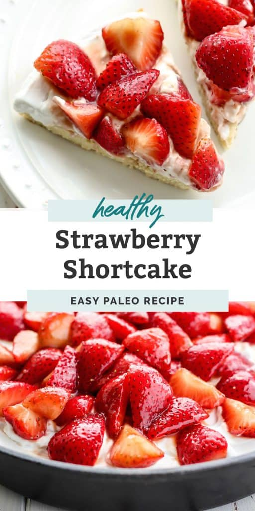 paleo strawberry shortcake pinterest