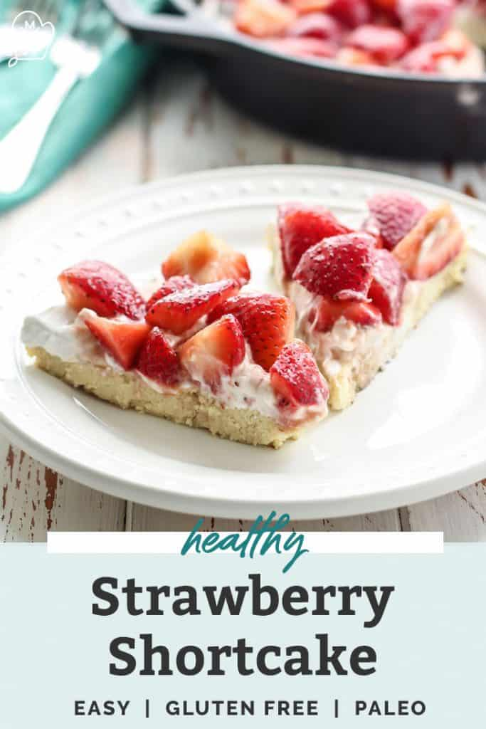 strawberry shortcake in cast iron skillet pinterest