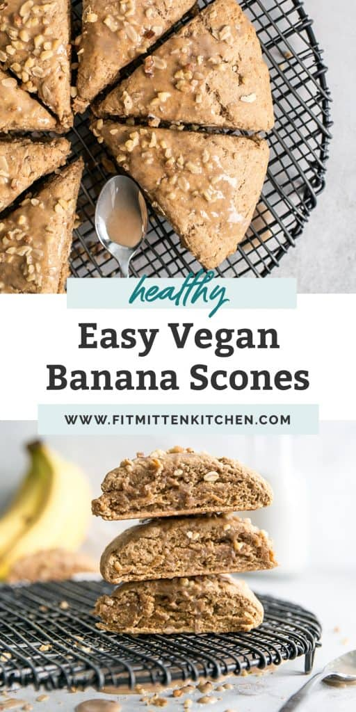 vegan banana scones pinterest
