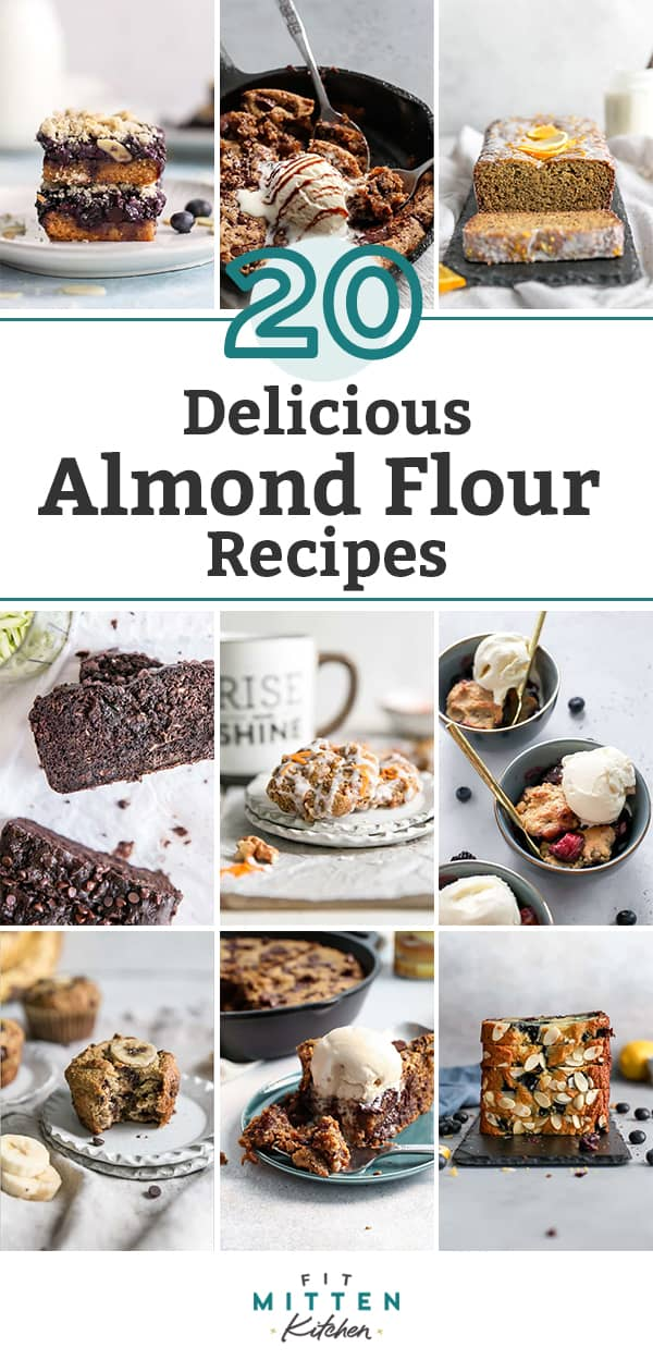 20 Delicious Paleo-Friendly Almond Flour Recipes pinterest graphic