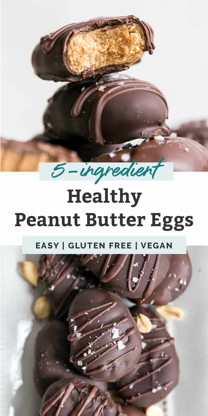 healthy peanut butter eggs pinterest