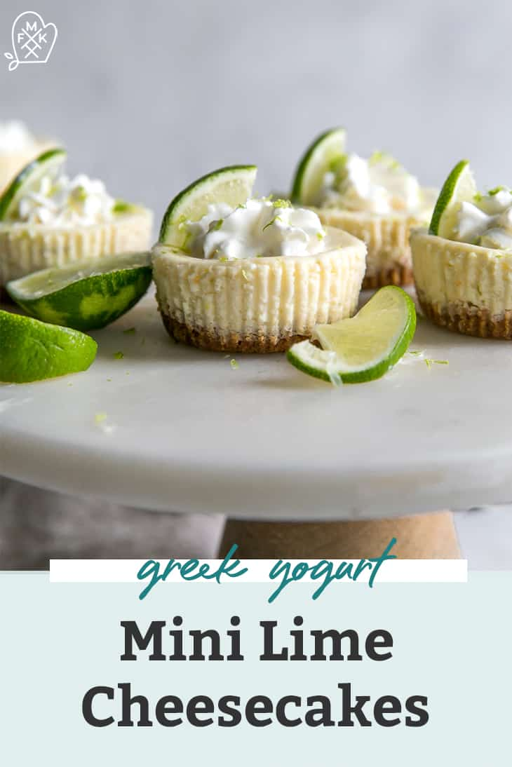 mini lime cheesecakes pinterest