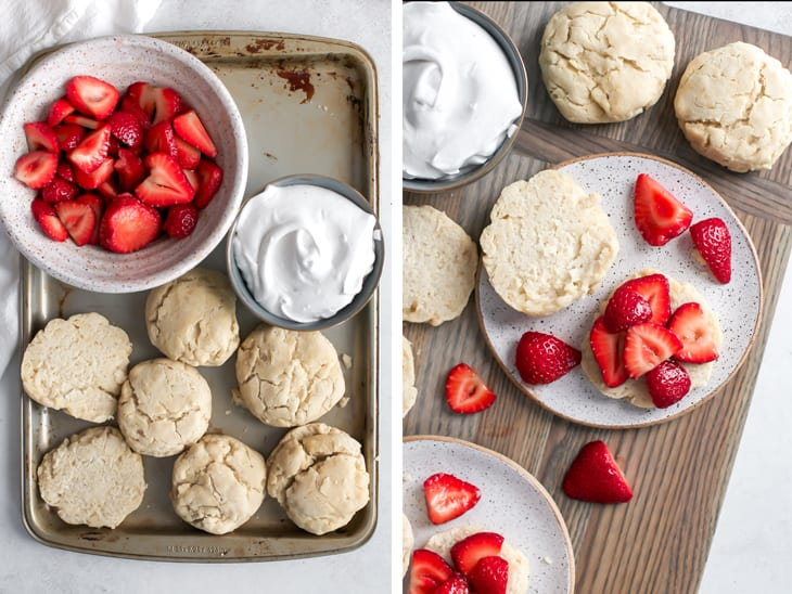 how to make strawberry shortcake biscuits