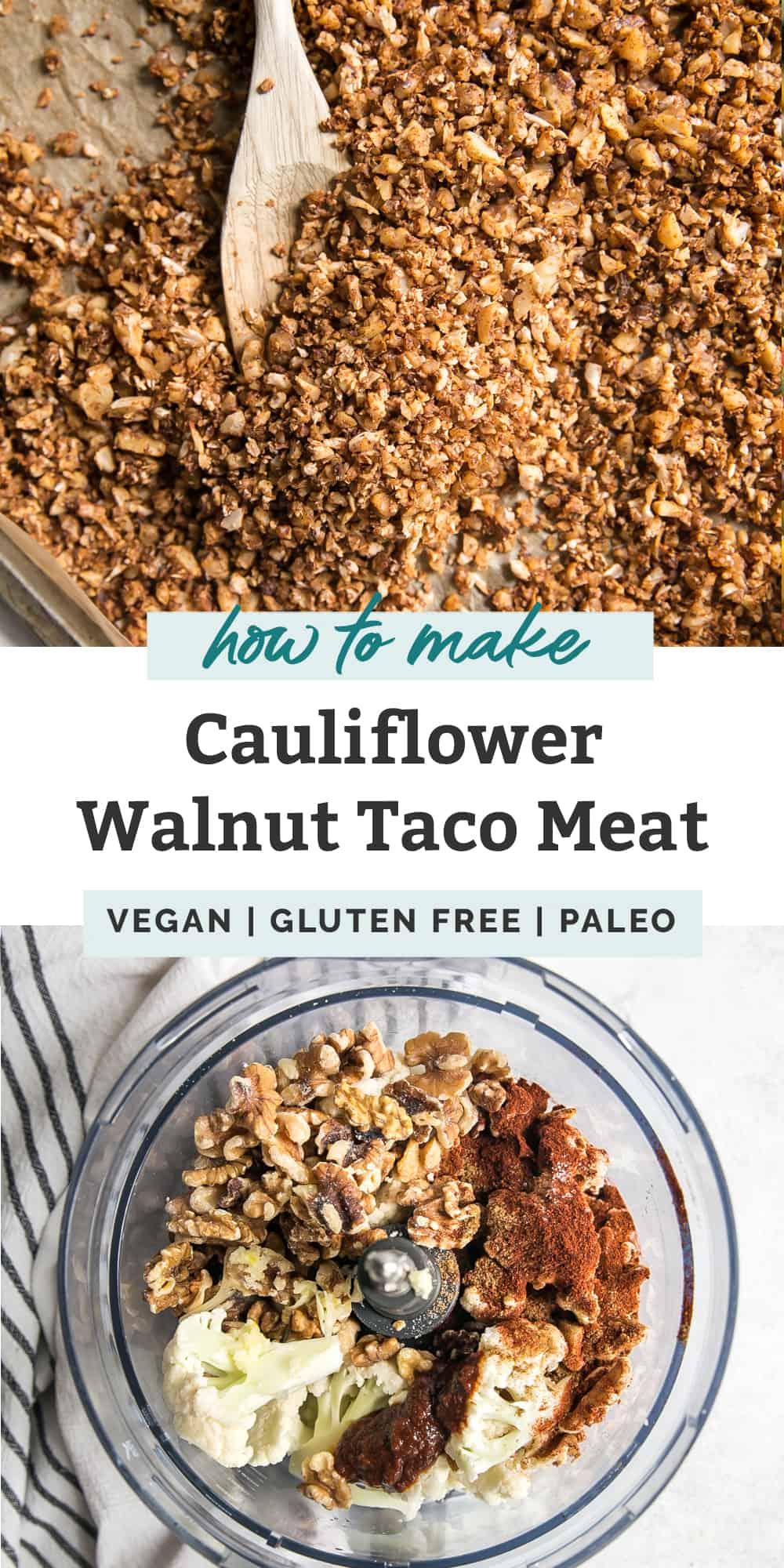 How to Make Walnut Taco Meat pinterest