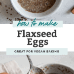 flaxseed egg pin