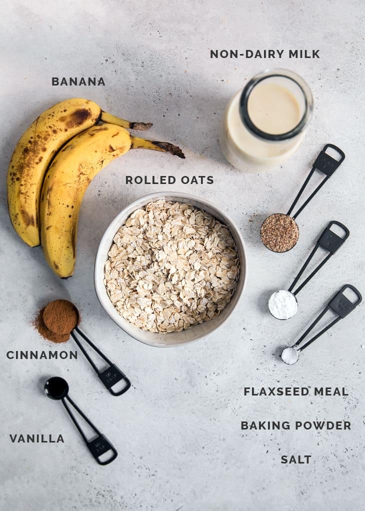 banana oatmeal ingredients on board